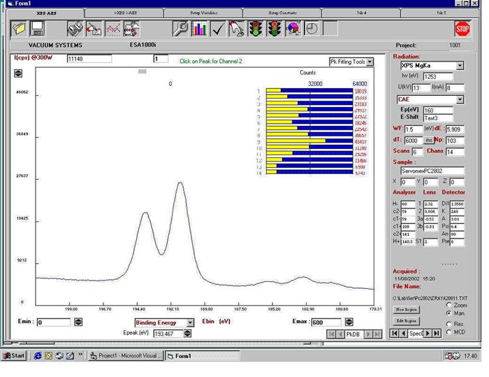 Vacuum Systems Ltd | ESA 126i